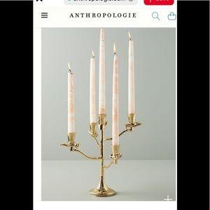 Anthropologie Slater candelabra. New!